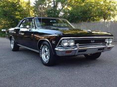 1966 Chevrolet Chevelle SS 396 Convertible Four Speed 360HP