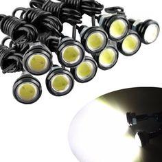 8.06$  Buy now - http://aliz3w.shopchina.info/go.php?t=32708671913 - 10pcs 9W Car LED White Eagle Eye Car Light High Power Car Daytime Running Light parking light Auto white bulb car led light  #aliexpresschina