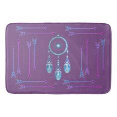 Dream Catcher and Arrow Bath rug set - home decor design art diy cyo custom