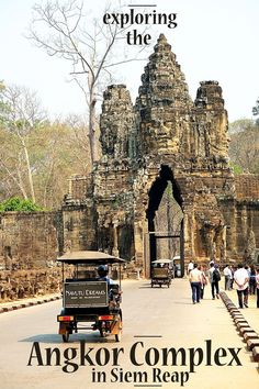 The Angkor Complex in Siem Reap, Cambodia is HUGE but truly spectacular!! Read more on wanderluststorytellers.com.au to see which temples we chose to visit.