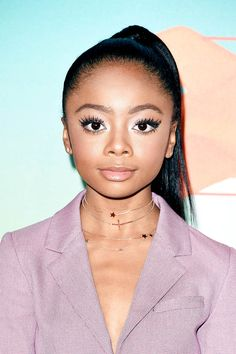 Skai Jackson attends Nickelodeon's 2016 Kids' Choice Awards at The Forum on March 12, 2016 in Inglewood, California