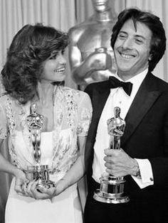 1979 Sally Field, BA in 'Norma Rae' and Dustin Hoffman, BA in 'Kramer vs Kramer'