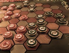 Strategy Redefined is a two-player abstract strategy board game that's fun, fair, creative and competitive. We love strategy games, but they've got a big Wooden Board Games, Wood Games, Game Boards, Larp, Make Your Own Game, Maker Game, Fitness Gifts, Strategy Games, Tabletop Games