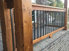 Image result for photos of deck installation with Estate Square Balusters by Deckorators