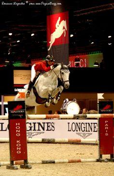 www.pegasebuzz.com/leblog | Equestrian // Grand Prix Gucci Paris Masters : Pénélope Leprévost and Mylord Carthago | Photo : Roxanne Legendre