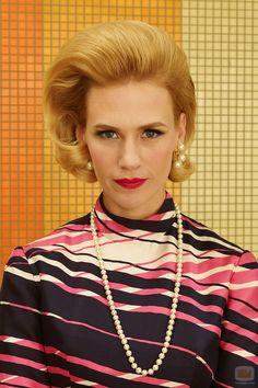 "January Jones (as Betty Francis) in ""Mad Men"" (TV Series)"