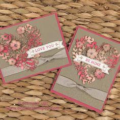 #bloominlovestampset #bloominheartthinlits #incolor #fallingpetals