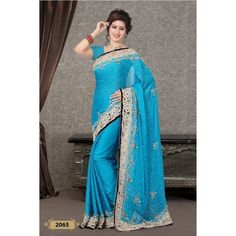 Handwork Designer Saree ( D.No.2065 )