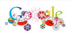 Takashi Murakami Google design!
