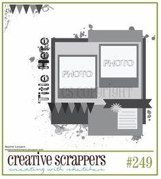 Creative Scrappers: Sketch #249