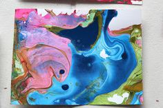 Shine Your Light: Swirl Painting with Enamel Paints, and ShineKids