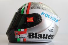 New color for the MotoGp race in Argentina 2014. Chrome paint and italian flag. Hand Made by Ag Design Pesaro Italy. www.agdesignpesaro.com