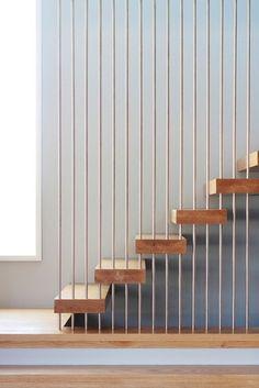 Wheeler Residence - modern - staircase - new york - Saniee Architects llc…