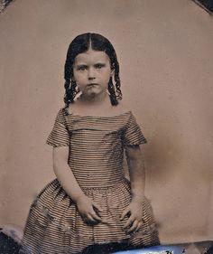 1860s little girl