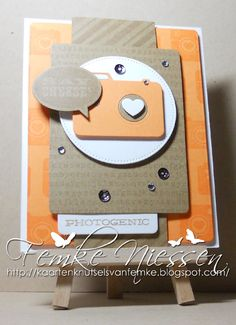 made by femke niessen: say what! used a sketch from viva la verve to make this card. MFT stamps: picture this, backgroundstamps. MFT dienamics: cute camera's 2, blueprints, say what.
