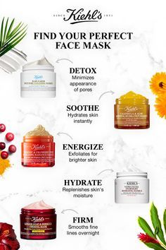 Our face masks address many skincare concerns, from glowing skin to combatting blackheads. Discover which fits your skincare routine! Unclog & detox with Rare Earth Deep Pore Cleansing Mask; soothe & hydrate with Calendula & Aloe Soothing Hydration Mask; Pore Cleansing Mask, Hydrating Mask, Best Face Mask, Face Masks, Younger Skin, Tips Belleza, Best Face Products, Beauty Skin, Skin Care Products