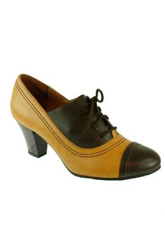 """Elsie Heel Shoe With Lace on Top in natural purple by Lola Ramona $155 - $100 at BeyondTheRack. 2"""" Heel Upper: Leather, Sole: Rubber"""