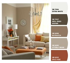 Burnt Orange   Color Inspiration   Bright Bold And Beautiful | Living  Rooms, Room And Color Inspiration