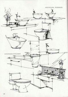 Interesting Find A Career In Architecture Ideas. Admirable Find A Career In Architecture Ideas. Drawing Interior, Interior Design Sketches, Industrial Design Sketch, Interior Rendering, Sketch Design, Sketchbook Architecture, Croquis Architecture, Perspective Sketch, Urban Sketching
