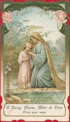 Vierge Marie, priez pour nos