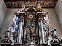 Barby, Altar in St. Marien