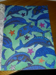 #arttherapy #dolphins
