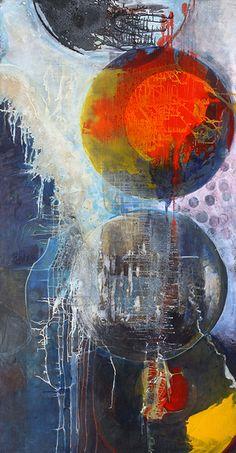 Cape Cod Painter Joe Diggs Abstract At Webster & Co #webstercompany #websterartproject