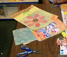 Inspired by Eric Carle art activity