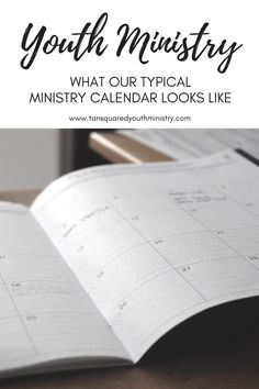 Planning your calendar for the new year? Here's what our typical Youth Ministry calendar looks like plus a few things we've learned to make planning easier.