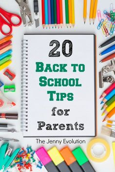 Back to School Tips for Parents | The Jenny Evolution