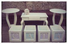 Estilo MAYAY-Diseño en Exhibidores porta Cup cakes, Candy bar, & Cakes