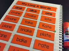 Blog post about teaching long vowels!!! Lots of interactive activities!
