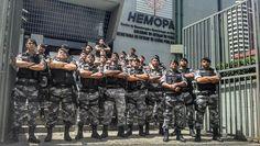POLÍCIA DO PARÁ                                 Ao Alcance de Todos!: POLICIAIS MILITARES DA ROTAM DOAM SANGUE PARA HOSP...
