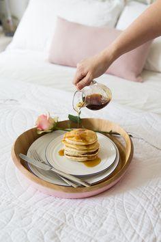 Breakfast ingredients :: Accidentally Vegan pancakes.