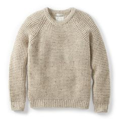 Browse Waffle Crew Skiddaw and more from Peregrine at Wolf & Badger - the leading destination for independent designer fashion, jewellery and homewares. English Clothes, Vintage Jumper, Jumper Outfit, Outdoor Wear, Waffle Knit, Casual Outfits, Casual Clothes, Crew Neck, Men Sweater