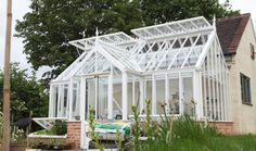 ¾ Span | Glasshouse Collections | Griffin Glasshouses | Beautiful Glasshouses of Distinction | Glasshouse Design Guide