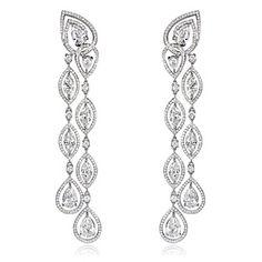 Blue River Diamond Earrings