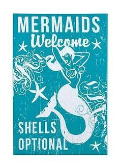find this pin and more on mermaids - Mermaid Home Decor