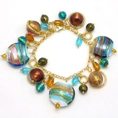 The bracelets which are visualized by the Murano artists are really unique. They use a variety of designs and colors. There are all fashions of Murano glass bracele