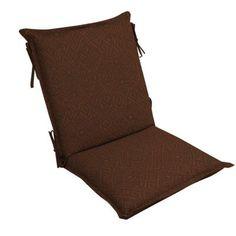 Patio Cushion Ideas - Hampton Bay Cayenne Ikat High Back Outdoor Chair Cushion - The Home Depot