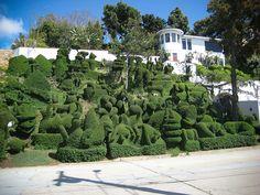 Mission Hills, Topiary Garden, Grass Flower, Hedges, Amazing Nature, Flower Art, Landscape Design, Planting Flowers, San Diego