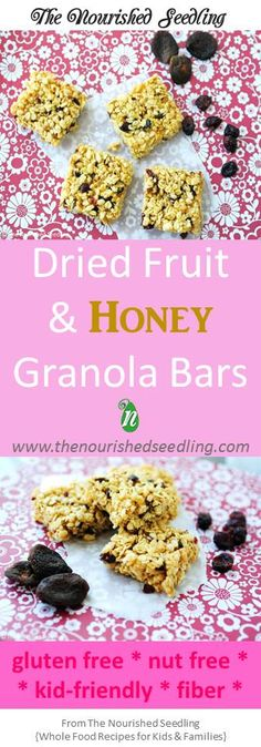 With no refined sugar and full of fiber and iron from dried fruit and oats, these granola squares are quick to whip up and are a naturally sweet treat to satisfy a craving.