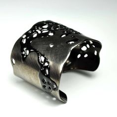 Cut Out Cuff - Carrie Bilbo Art Jewelry