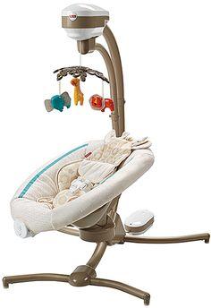 Fisher Price Papasan Cradle Swing~ Short Seat Base Straps Replacement Part