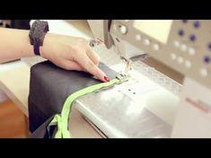 Обработка края ткани шитья Как обработать срезы изделий хлопком Косая бейка из батиста своими руками - YouTube