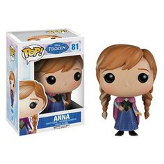 Disney Frozen Anna Pop! Vinyl Figure - Funko - Frozen - Pop! Vinyl Figures at Entertainment Earth