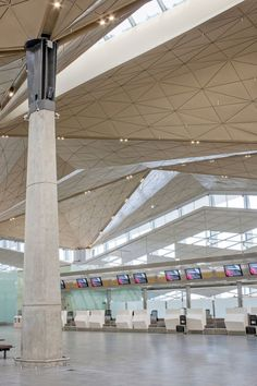 terminal at the pulkovo international airport in st. petersburg, russia by grimshaw architects