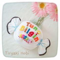 ♥ Tiryaki Hobi ♥: Keçe takı yastığı - Tunç Bilgin --------------  felt pillow