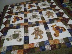 Teddy Bear quilt....simply adorable