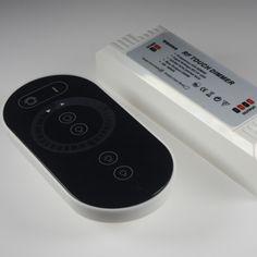 LED Dimmer mit Funk Fernbedienung Touch 12V 24V